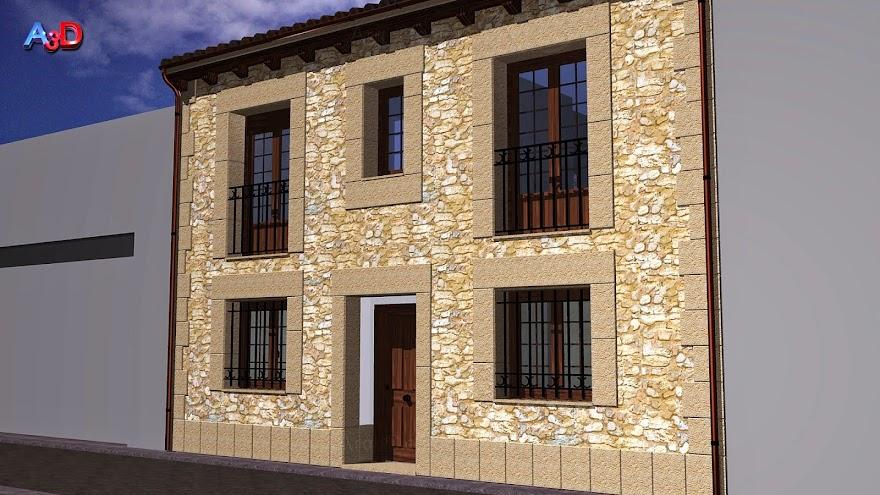 Infografia 3D Salamanca