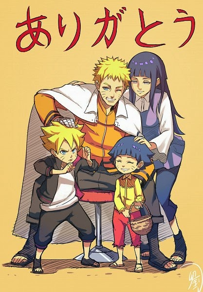 Keluarga Uzumaki Naruto