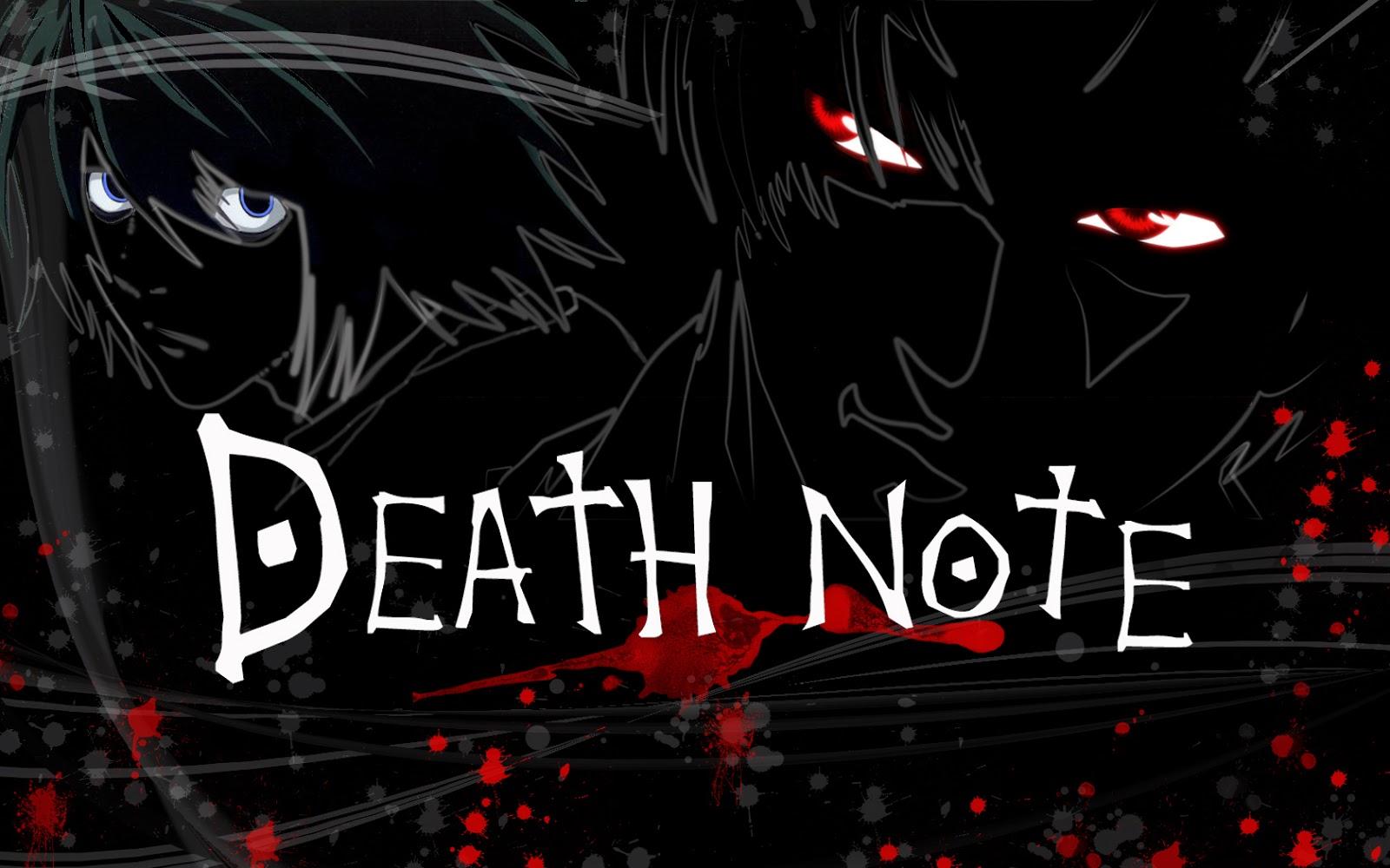 Death Note Wallpaper L Ryuzaki Light Yagami Kira