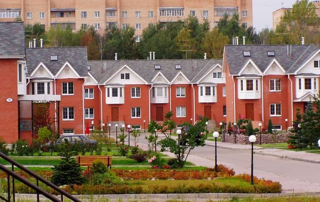Эталон застройки жилого микрорайона объем