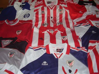 Colección de camisetas del Athletic Club