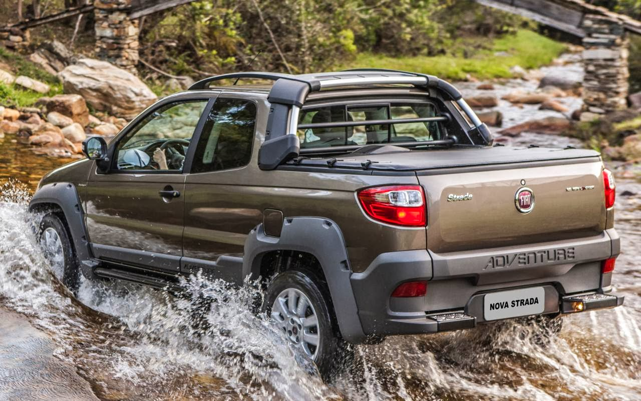 Fiat Strada 2015 - picape mais vendida do Brasil