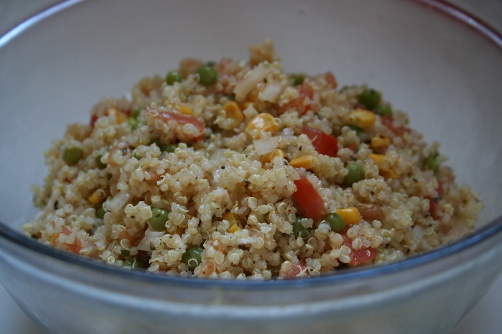 Be Sweetly Inspired: Easy Quinoa Salad