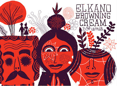 ELKANO BROWNING CREAM GIRA AUSTRALIA BOHEMIA