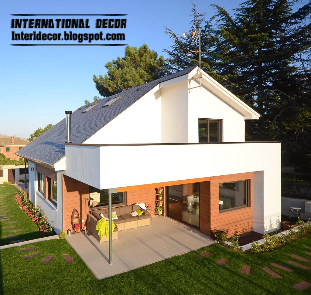 Eco friendly and modern homes for Ecological home