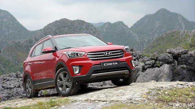 Hyundai Creta ra mắt thị trường Việt giá 806 triệu