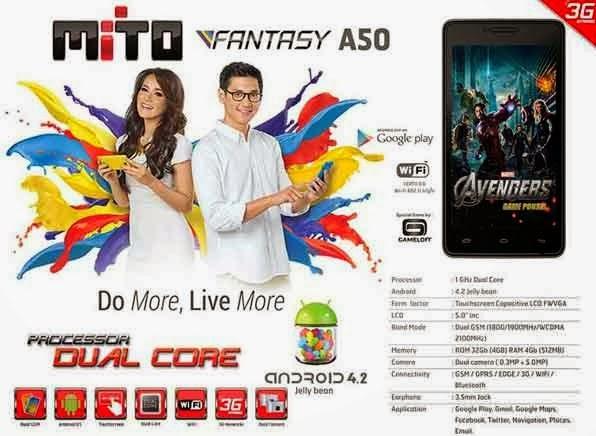 Mito Fantasy Harga Spesifikasi Kelebihan Kekurangan Mito Fantasy Pocket A150