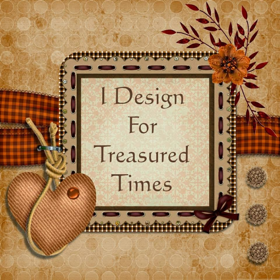 I design for Treasured Times Rubber Stamps!