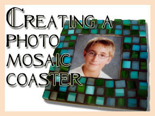 Creating a Photo Mosaic Coaster