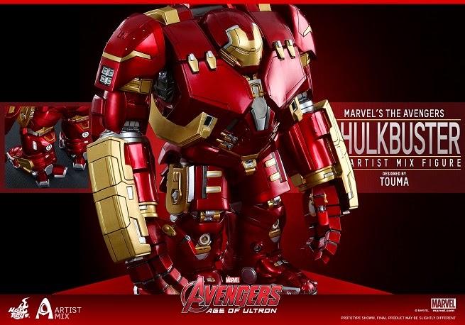Action Figures: Marvel, DC, etc. - Página 2 Hot-toys---avengers---age-of-ultron---artist-mix-figures-designe-121036