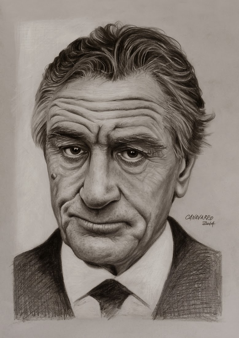 07-Robert-De-Niro-Nestor-Canavarro-Celebrity-Portraits-Animated-Drawings-www-designstack-co