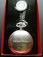 Sears Craftsman limited edition collectible pocket watch silver steel