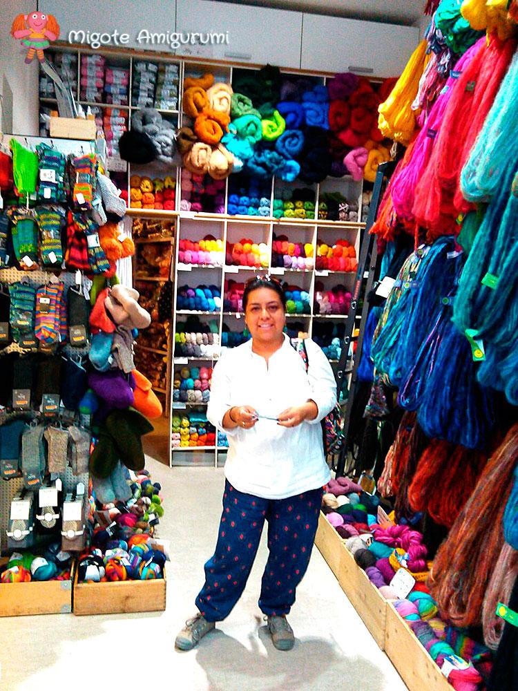 Liana Salazar - Tienda de lanas en Berlin - Migote Amigurumi