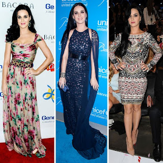 Katy Perry, Best Dressed Celebrity of 2012, Best Dressed Celebrities