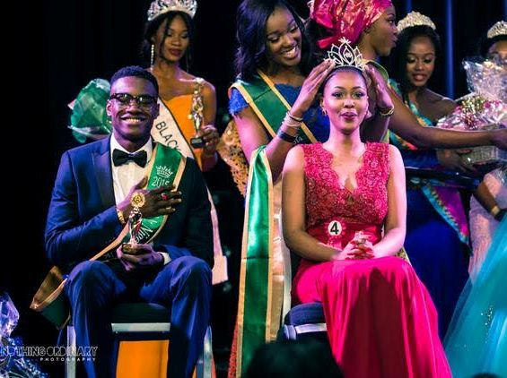 Pictures of Mr and Miss Nigeria UK as they're Crowned in London