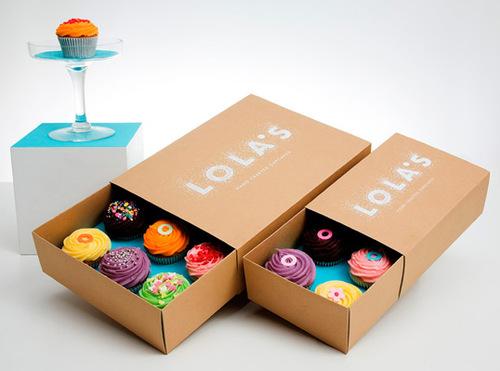 Cupcake Bakery Boxes