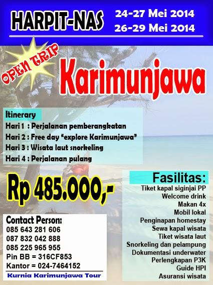 paket wisata murah untuk mei 2014