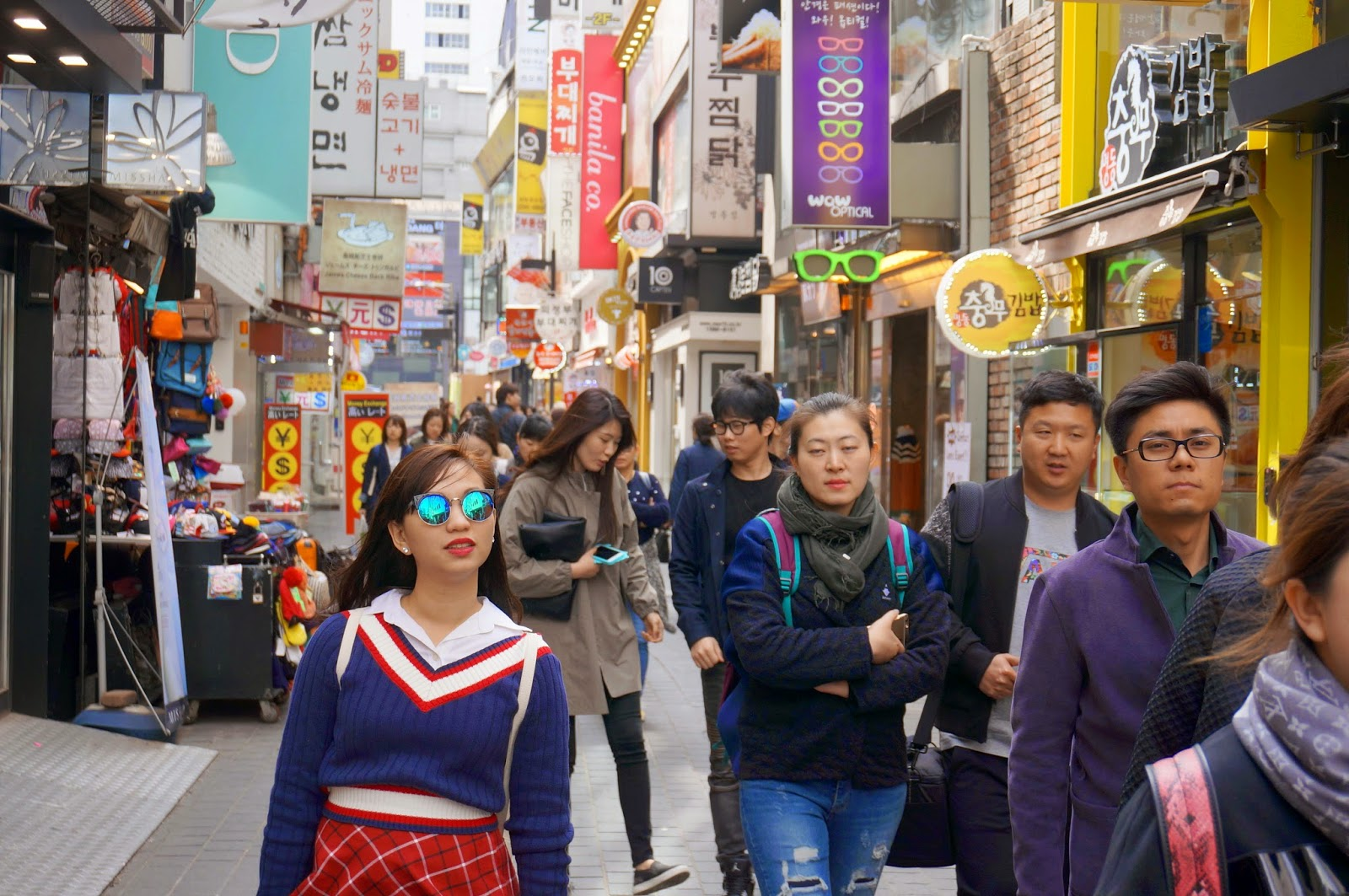 Myeongdong, Seoul's no.1 attraction. | Bodeum Guest House Seoul Tower