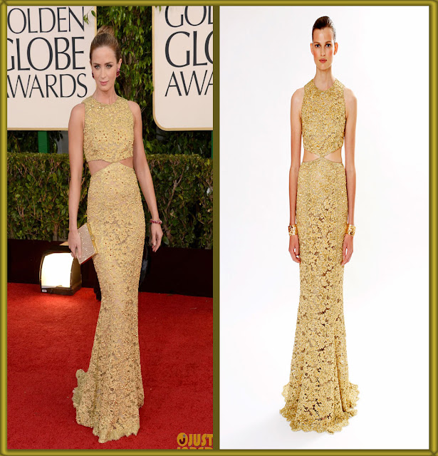 a filha do chefe emily blunt vince camuto shoes golden globes 2013