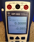 GE Druck DPI 802 PRESS RANGE:  0 ~ 3.5bar Pressure &amp; Loop Calibrator 0.05% FS