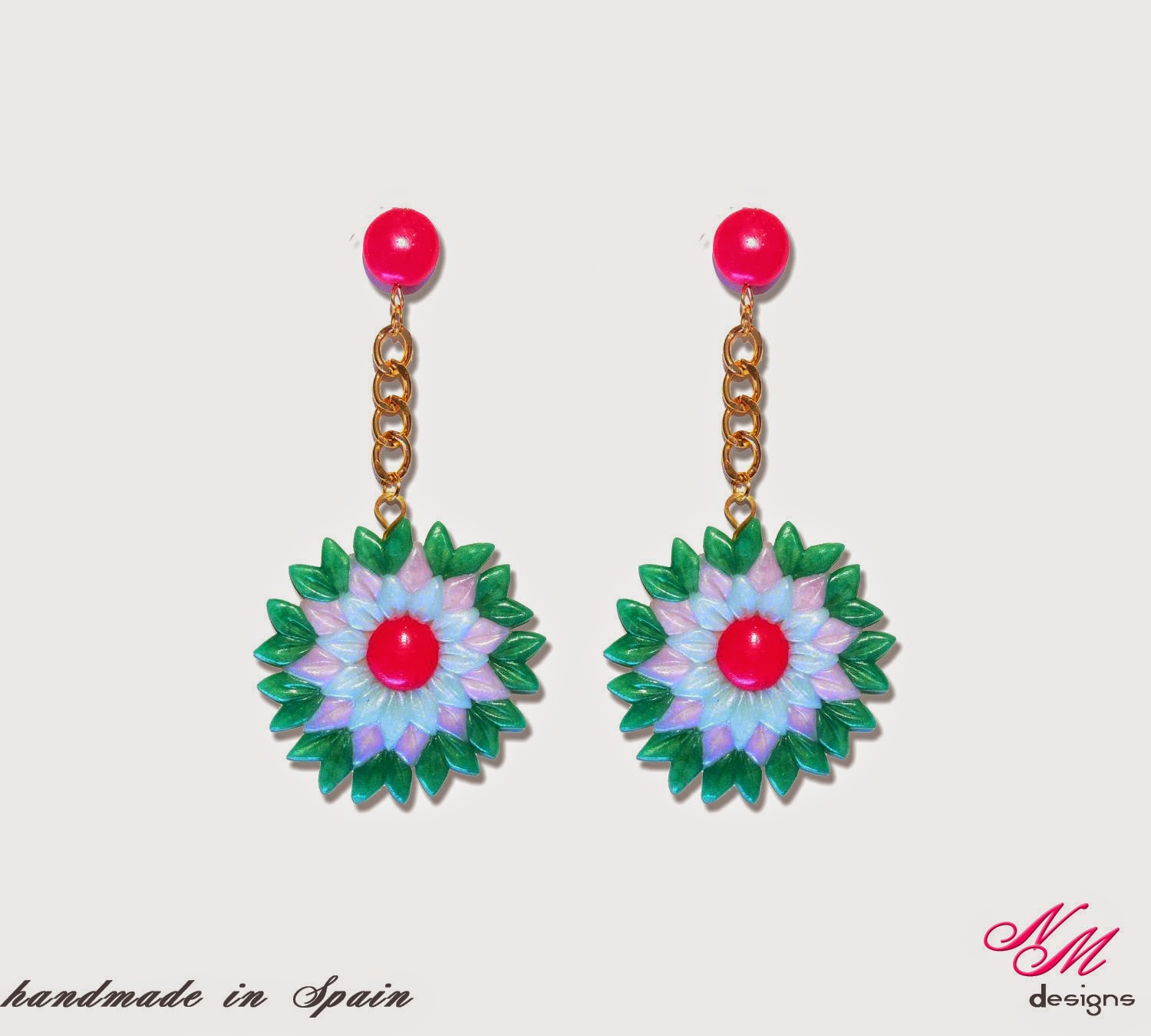 "Pendientes/Earrings ""Primavera"" NM Designs"