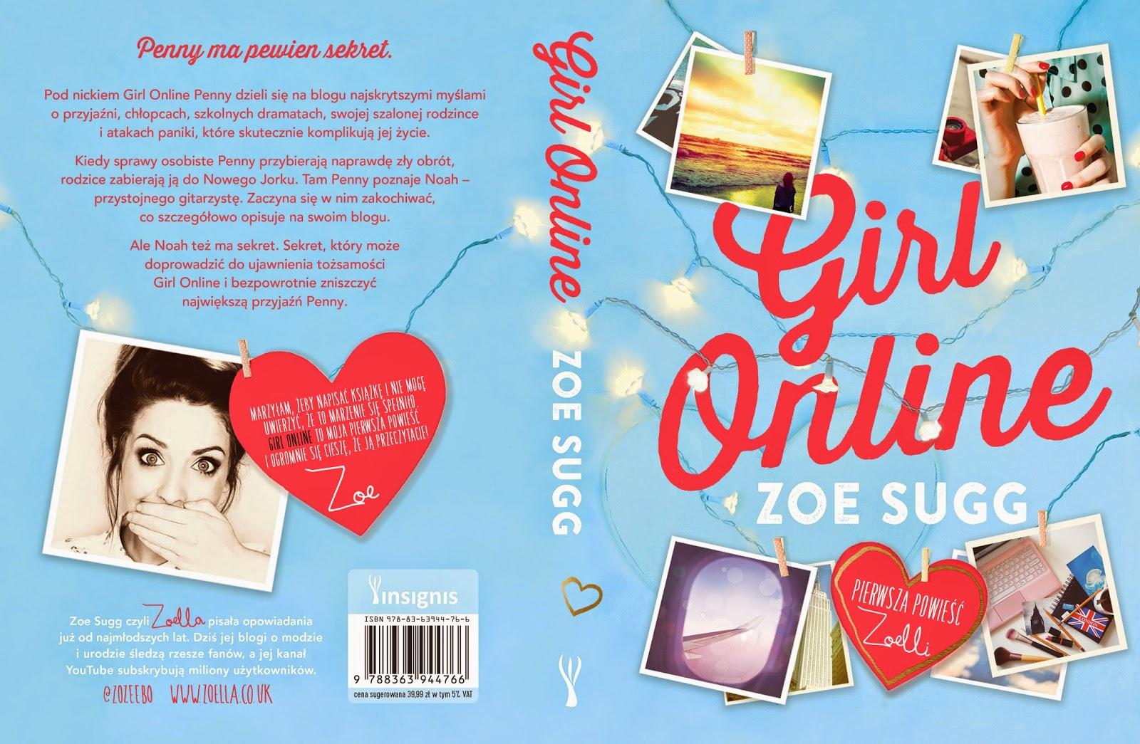 """Już 8 kwietnia ukaże się książka Zoe Sugg """"Girl online""""!"""