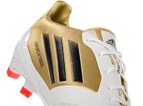 botas de fútbol Leo Messi 2012