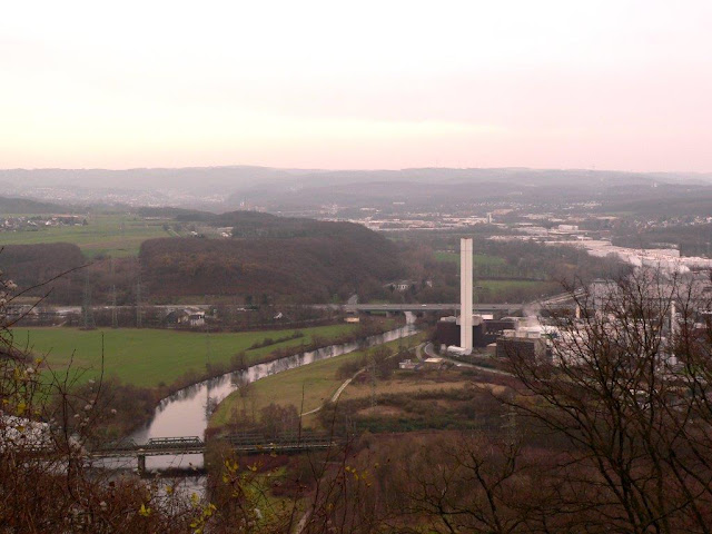 Hengsteysee Ruhr Hohensyburg Dortmund Wandern Wanderweg NRW Ruhrgebiet Hund