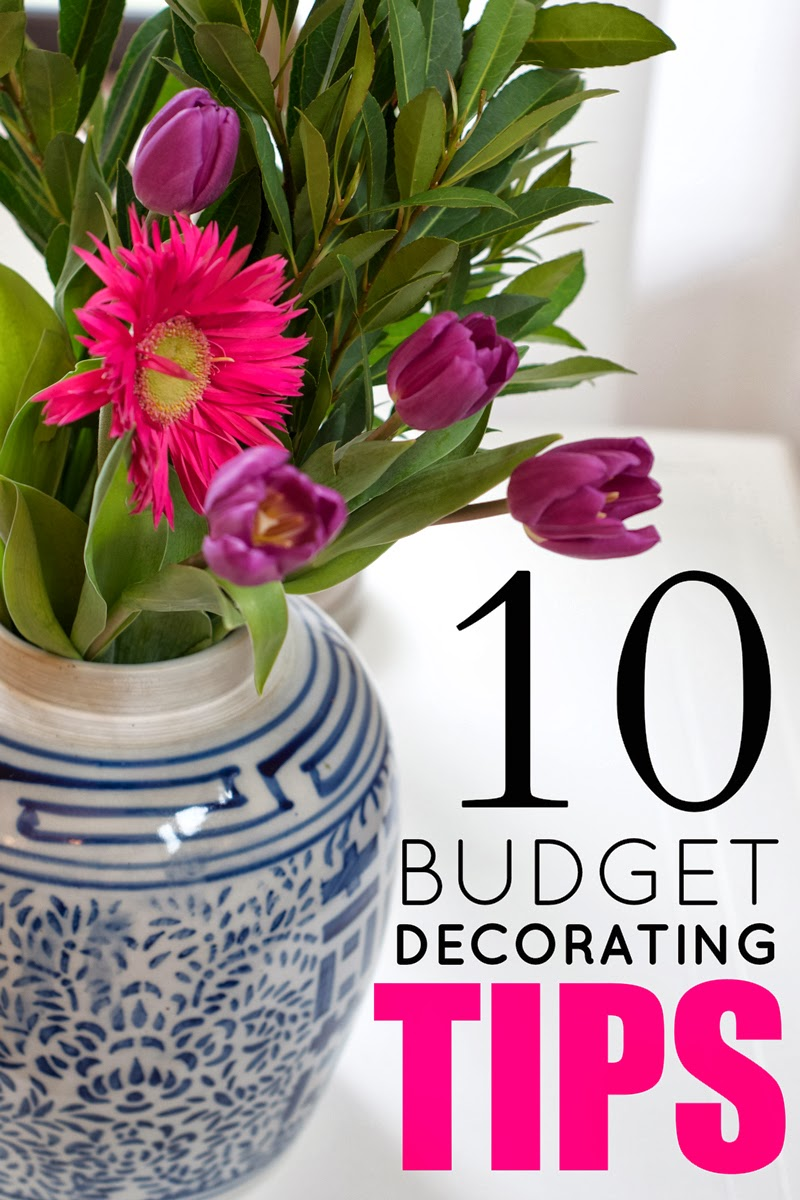 LiveLoveDIY: 10 Budget Decorating Tips