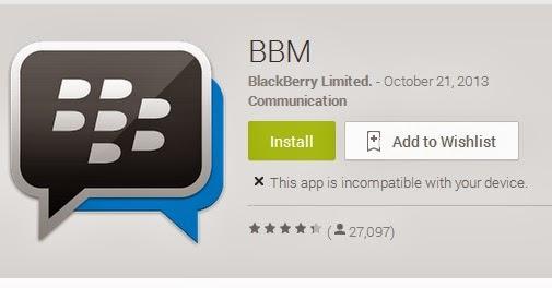 Link Download BBM for Android Resmi dari Google Play Store