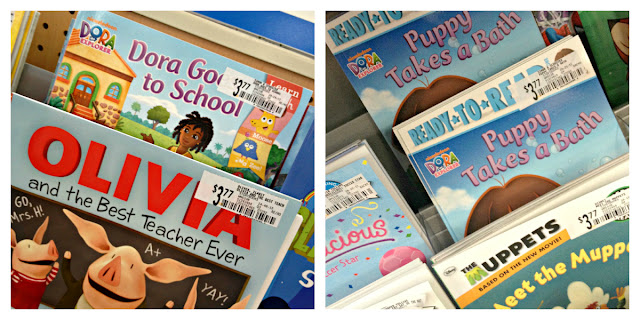Nickelodeon books, #NickCFK, Big Help Book Drive, Walmart, Champions For Kids, Dora Books, Olivia Books