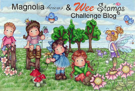 Proud DT designer to Magnolia-licious and Wee Stamps