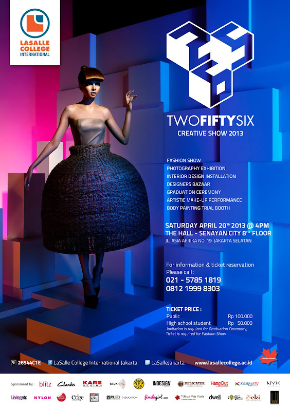 Two Fifty Six - Creative Show 2013 - Graduation Show LaSalle College International Jakarta