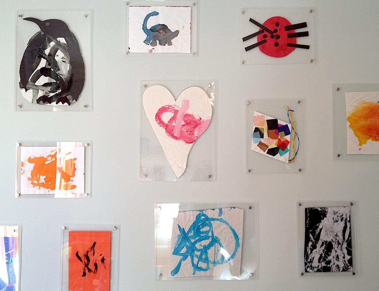 bryn alexandra: Children\'s Art in Acrylic Frames