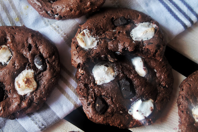 Smores Protein Cookies