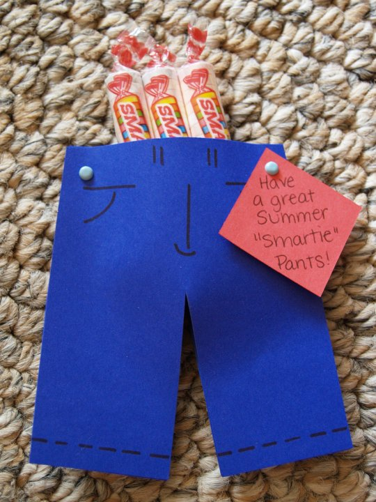 THE MUDDY PRINCESS: Smartie Pants