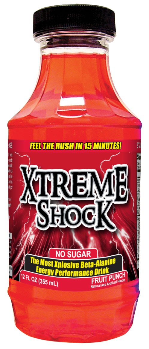 Caffeine Review For Xtreme Shock Fruit Punch