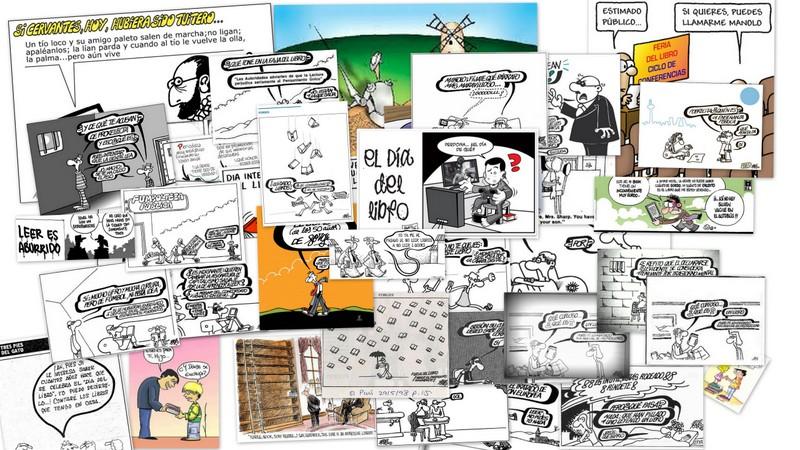 El libro en viñetas