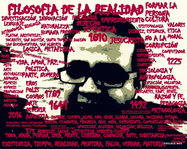 FILOSOFÍA DE LA REALIDAD.