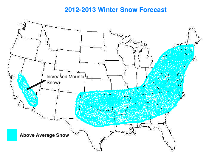 Long Range Winter Weather Forecast 20122013 | LONG HAIRSTYLES