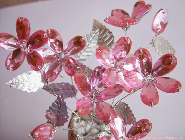 How to Make Crystal Flowers
