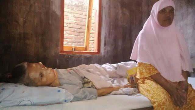 Penderita Tumor Ganas Butuh Bantuan