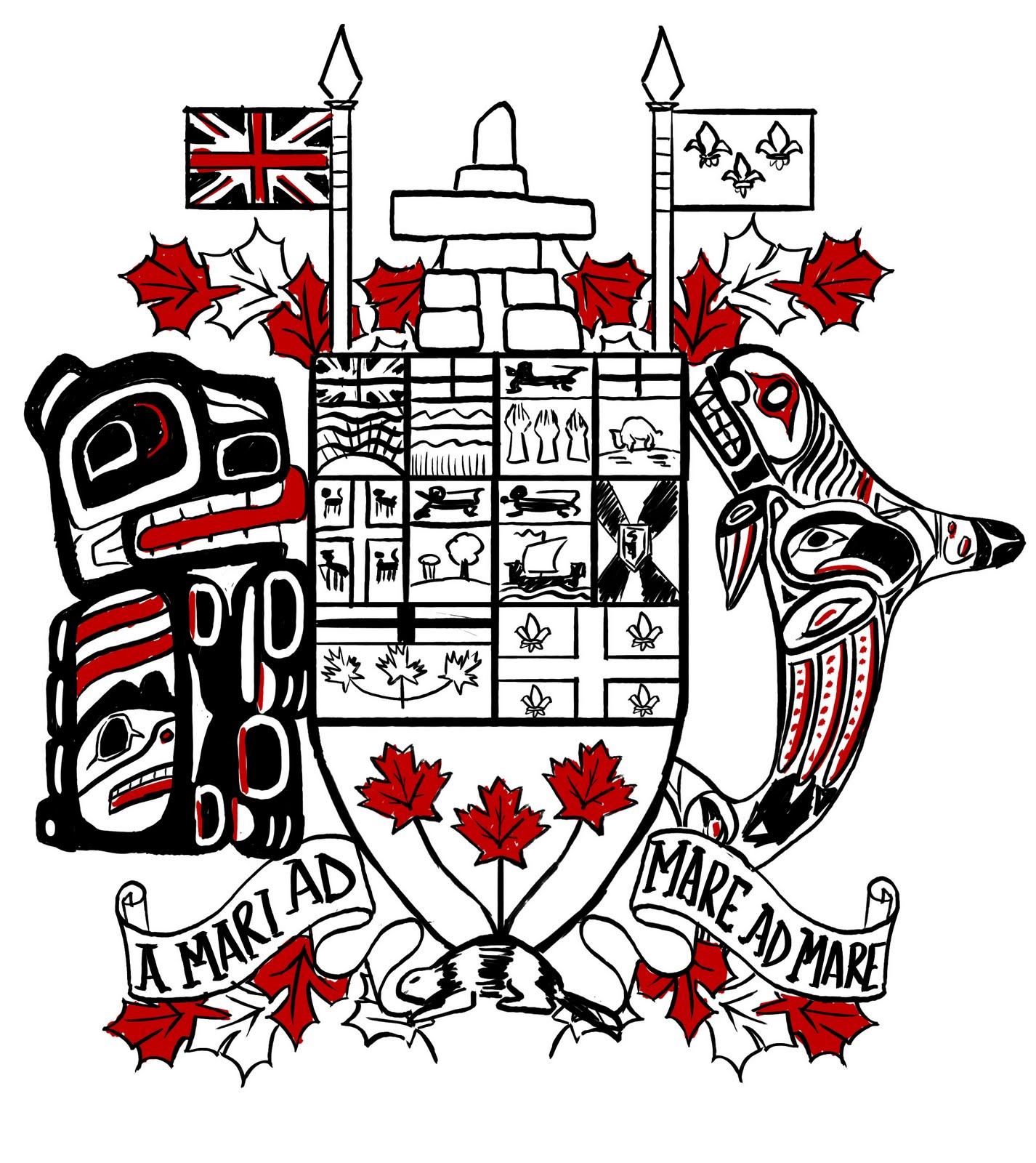 suggestions online images of canadian coat of arms tattoo