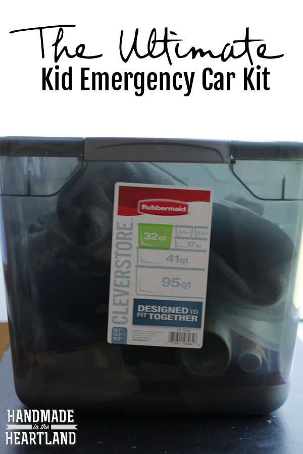 the Ultimate Kid Emergency Car Kit