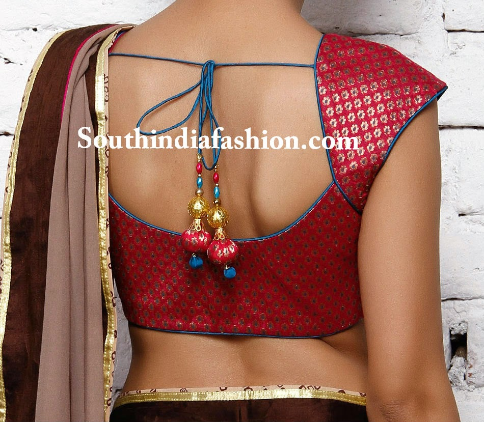 latest simple blouse deisgns