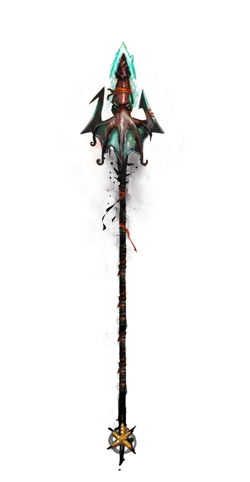 steampunk trident | cosplay ideas | Pinterest Poseidon Staff
