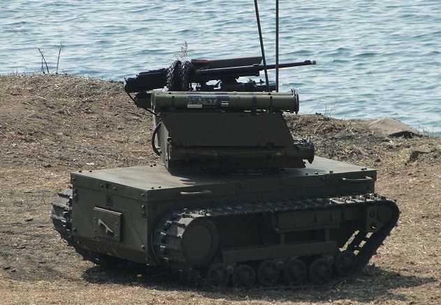 Pasukan Khusus Rusia Telah menerima Robot platform-M UGV Yang Canggih
