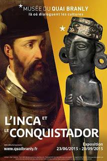 L'Inca et le conquistador au musée du Quai Branly