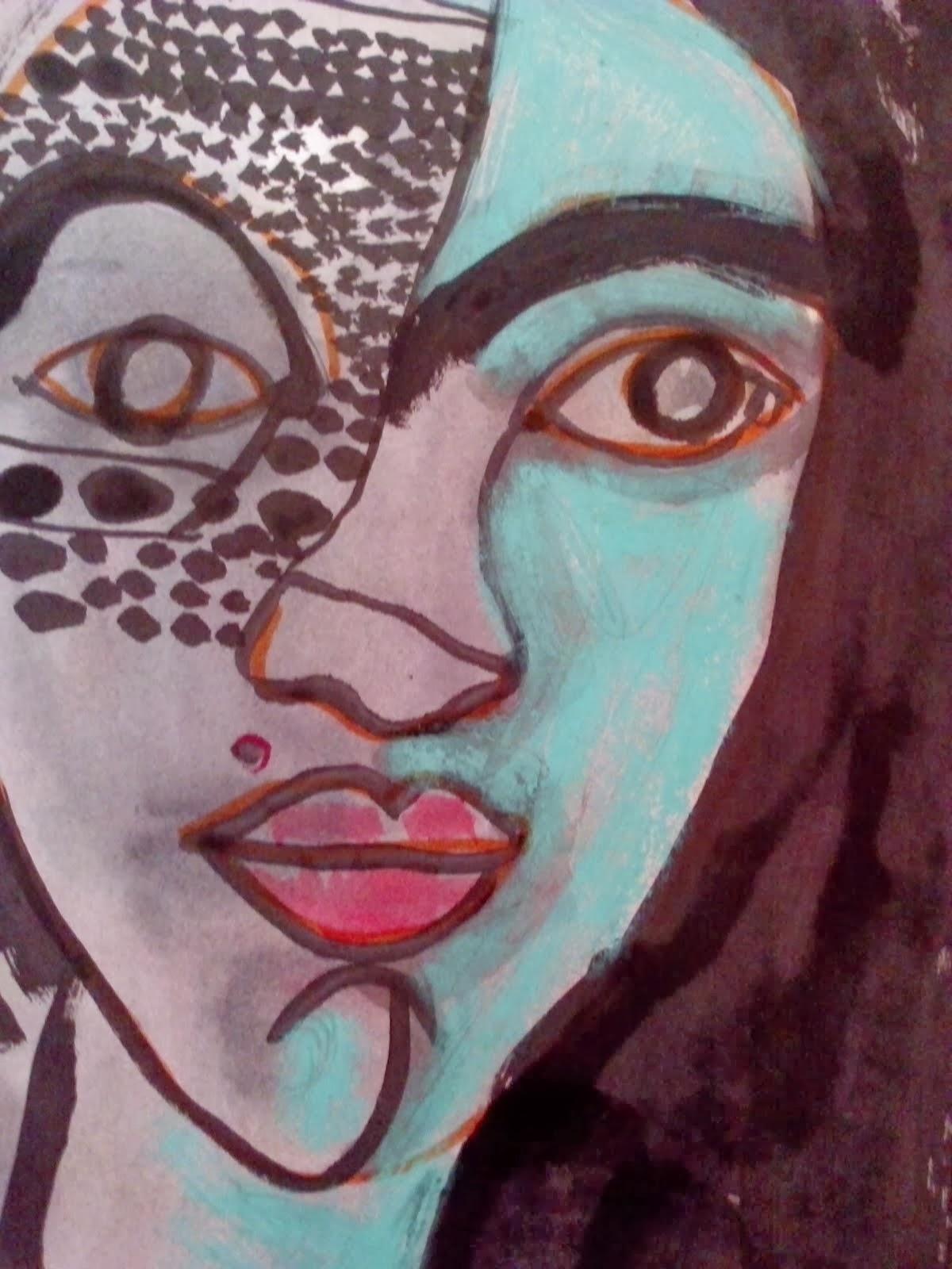 """Somotho, illustratrice de """"Sous les fleurs de la tapisserie"""""""