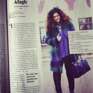 la stylist curvy olandese Afagh